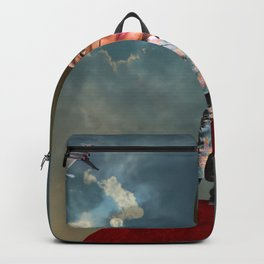 Red Planet Man Backpack