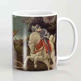 St George and the Dragon - Paolo Uccello Coffee Mug