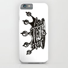 Royal Crown   Black and White iPhone 6s Slim Case