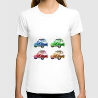 cars T-shirts featuring cars beetles  by mark ashkenazi