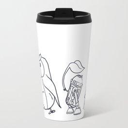Star Ghibli Wars: Mashup Drawing Travel Mug