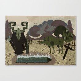 Bonedigger & Wulf Canvas Print