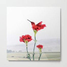 Carnation (r)evolution Metal Print