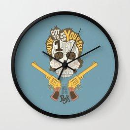 Do ya Punk? Wall Clock