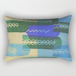 Crocodiles Rush Rectangular Pillow
