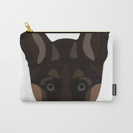 German Shepard Puppy Decal Carry-All Pouch