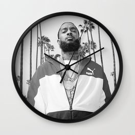 Sweetums Signatures Nipsey Hussle Poster Wall Clock