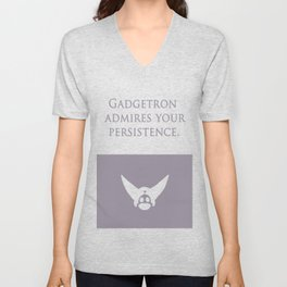 Ratchet and Clank: Gadgetron Admires Your Persistence - alternate Unisex V-Neck