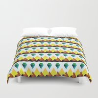 lucy Duvet Covers featuring Lucy by Priscila Kurata