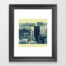 Macelleria Framed Art Print