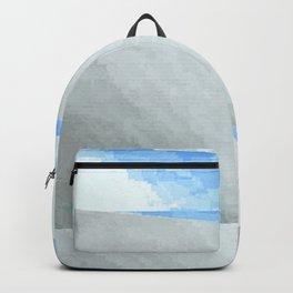 broken sky. heavy rain Backpack