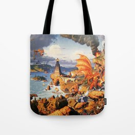 Ultima Online poster Tote Bag