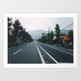Somewhere in Japan Art Print