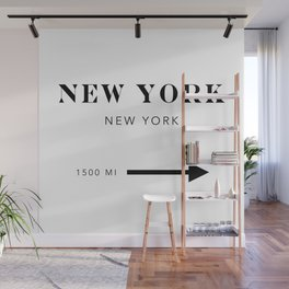 New York New York City Miles Arrow Wall Mural