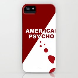 American Psycho Minimalist iPhone Case