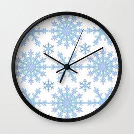 Let it Snow Mix 1 Wall Clock
