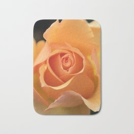 Orange Rose Bath Mat