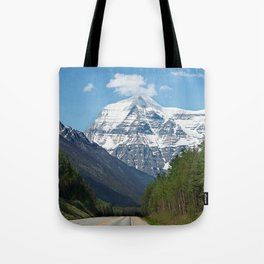 Mount Robson Photography Print Tote Bag