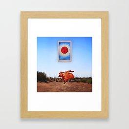 El Sol Framed Art Print