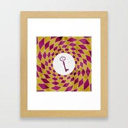 Phantom Keys Series - 08 Framed Art Print