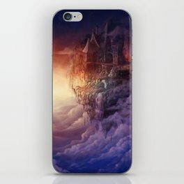 Castle in the sky iPhone Skin