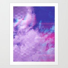 Trail in the Clouds Art Print