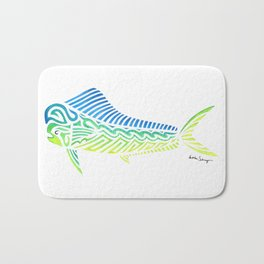 Tribal Mahi Mahi Bath Mat