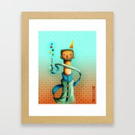 Juggler Framed Art Print