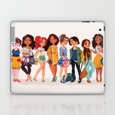 MODERN AU: Princesses Laptop & iPad Skin
