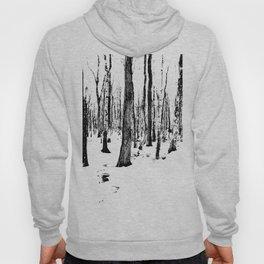 Trees in the Snow (B&W) Hoody