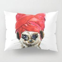 Red Turban Pillow Sham
