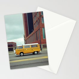 Yellow Bus Stationery Cards