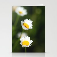 daisies Stationery Cards featuring daisies by Hannah