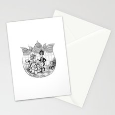 Floral Society Greeting Stationery Cards