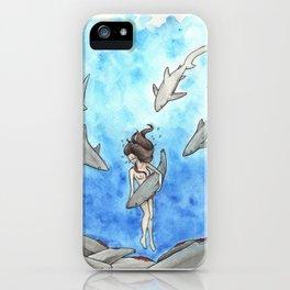 Heartbreak of Shark Finning iPhone Case