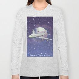 book a flight today Long Sleeve T-shirt