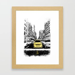 Excape Framed Art Print