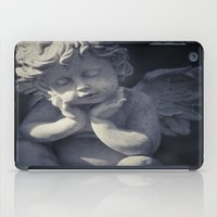 religious iPad Cases featuring Cherub by Maria Heyens