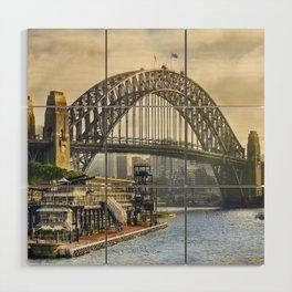 Sydney Harbour Wood Wall Art