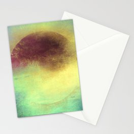 Circle Composition III Stationery Cards