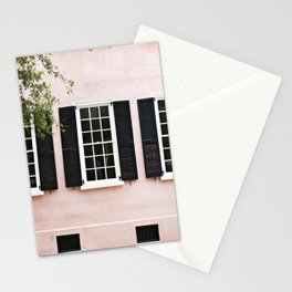 Pink Windows Stationery Cards