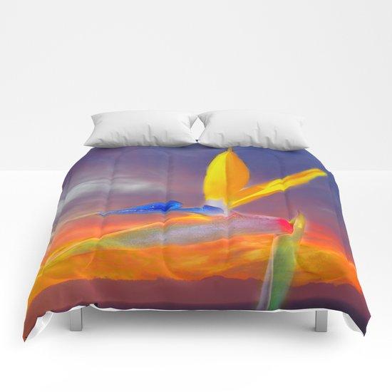 Sunset Flow Comforters