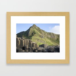 Giant's Causeway, Northern Ireland Framed Art Print