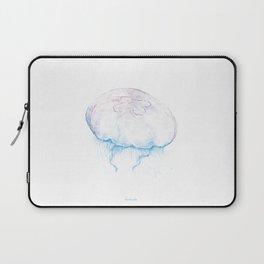 Aurelia aurita (color) Laptop Sleeve