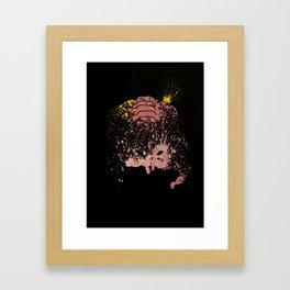 Brainy Framed Art Print