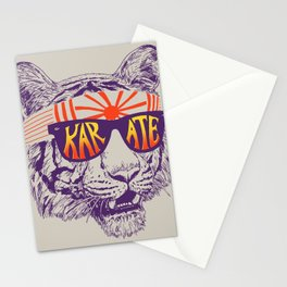 Karate Tiger Stationery Cards