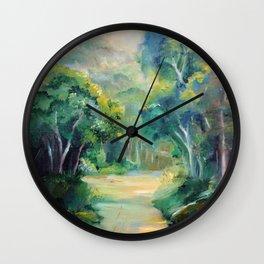 Caminho entre árvores (Path between the trees) Wall Clock