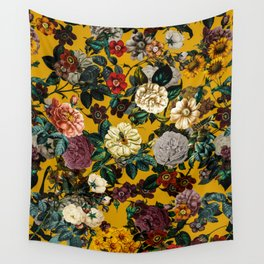 Exotic Garden V Wall Tapestry