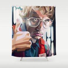 Matt Shower Curtain