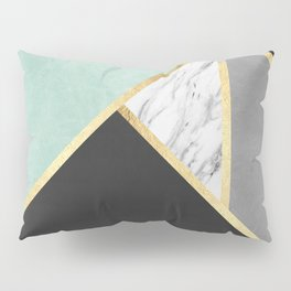 Gold collage IX Pillow Sham